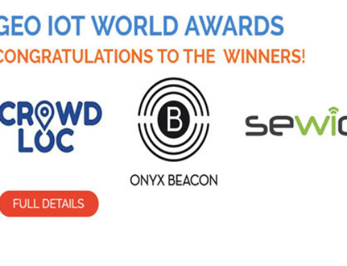 Sewio Awarded as Innovator in Geolocation at Geo IoT World 2017
