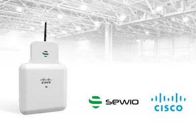 Sewio Partners with Cisco Systems to Enable Precise Localization and Cut Down on Deployment Costs